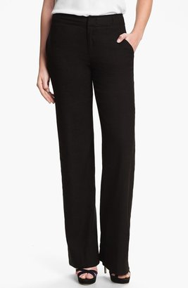 Vince Linen Wide Leg Trousers