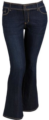 Old Navy Women's Plus Double-Buttoned Slim Flare Jeans