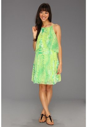 Kensie Python Printed Dress (Birch Combo) - Apparel