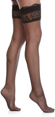 La Perla Calze Stay-Up Lace Thigh-High Stockings