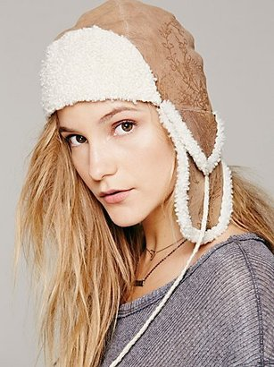 Free People Sherpa Lined Trapper Hat