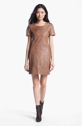 Rachel Zoe 'Luella' Leather Dress