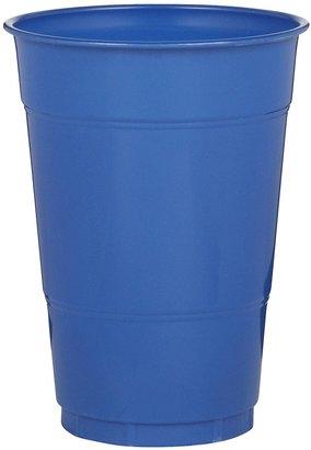 True Blue Creative Converting 16 oz Plastic Cups - 20 ct