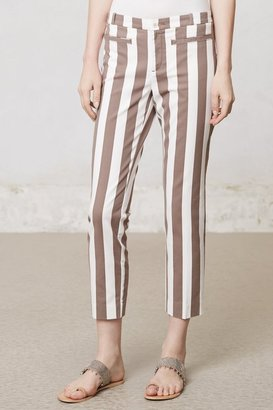 Anthropologie Ruled Charlie Trousers