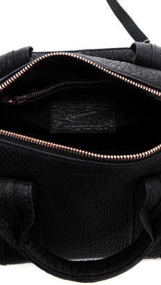Alexander Wang Rocco Duffel with Rose Gold Hardware