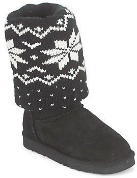Love From Australia COZIE women's Low Ankle Boots in Black