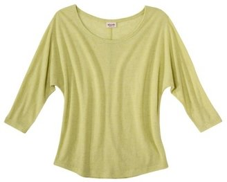 Mossimo Juniors 3/4 Dolman Sleeve Top - Assorted Colors