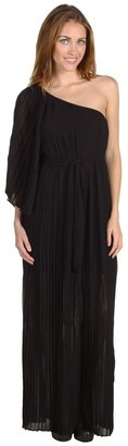 Alejandra Sky Eleanor Pleated Maxi