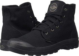 Palladium Pampa Hi (Black/Black) Men's Lace-up Boots