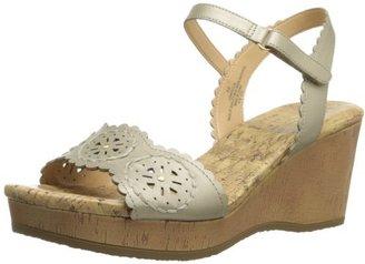 Easy Spirit Women's Marvela Wedge Sandal $17.62 thestylecure.com