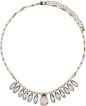 Topshop Rhinestone Diamond Necklace
