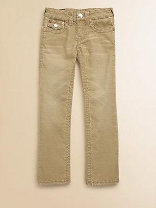 True Religion Boy's Jack Big T Corduroy Pants