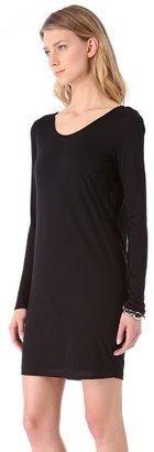 Helmut Lang HELMUT Kinetic Jersey Long Sleeve Dress