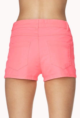Forever 21 Classic Colored Denim Shorts
