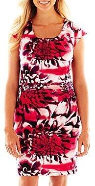 JCPenney Worthington® Zip-Shoulder Dress - Petite