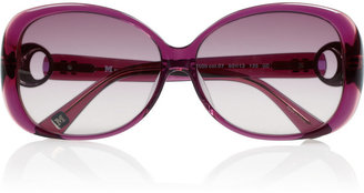 M Missoni Square-frame acetate sunglasses