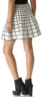 Ohne Titel Grid Knit Skirt