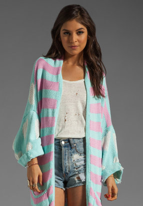 Wildfox Couture White Label American Love Slouch Cardi