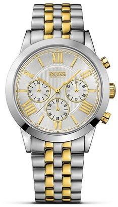 HUGO BOSS Quartz Classic Chronograph Watch, 43mm