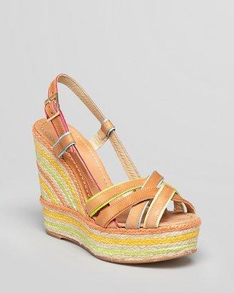 Kate Spade Espadrille Platform Wedge Sandals - Ladan