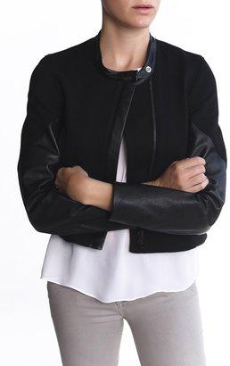 Helmut Lang Moto Terry Taper Sleeve Jacket