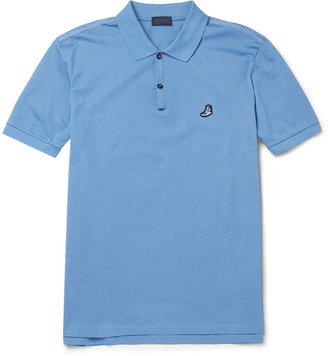 Lanvin Cotton-Piqué Polo Shirt