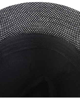 Forever 21 Woven Fedora w/ Feather