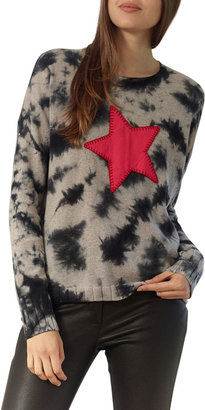 LISA TODD Star Struck Tie-Dye Cashmere Sweater