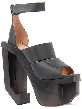 Jeffrey Campbell The Eggert Shoe in Black