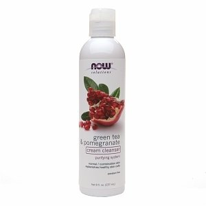 NOW Foods NOW Solutions Green Tea Pomegranate Face Cleanser
