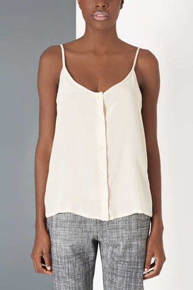 Topshop Silk Button Cami by Boutique