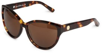 House Of Harlow Women'S Chantal Iridium Oversized Sunglasses,Tortoise Frame/Black Gradient Lens,One Size