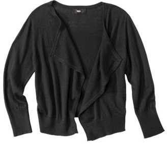 Mossimo Women's Cropped Waterfall Cardigan - Assorted Colors