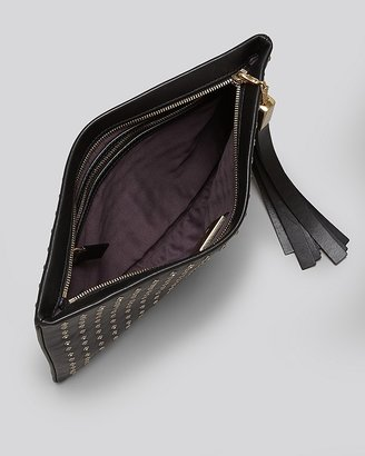 Brian Atwood Clutch - Lana Medium Zip with Crystals