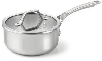 Calphalon 2.5-qt. Stainless Steel AccuCore Shallow Sauce Pan with Cover