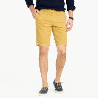 "J.Crew 10.5"" Short In Garment-Dyed Cotton"