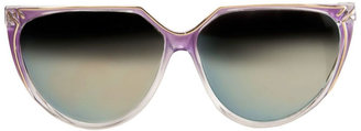 American Apparel Vintage IOC Mirrored Lavender/Gold Sunglasses