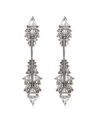 Fernando Jorge Diamond, topaz & gold earrings