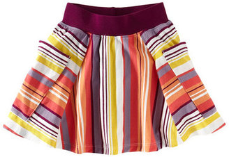 Tea Collection Sunset Stripe Twirl Skort (Big Girls)