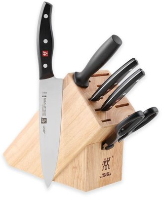Zwilling J.A. Henckels Twin Signature 6-Piece Knife Block Set