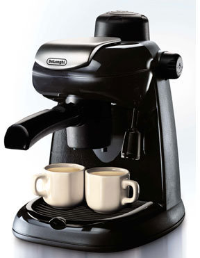 De'Longhi DeLonghi Black Espresso/Cappuccino Maker