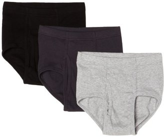 Hanes Big Boys' Classic Soft Dyed Brief (Pack of 3)
