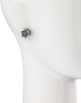 Eddie Borgo Aerator Stud Earrings, Gunmetal