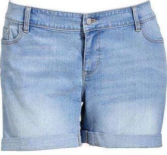 "Old Navy Women's Plus Cuffed Denim Shorts (5"")"