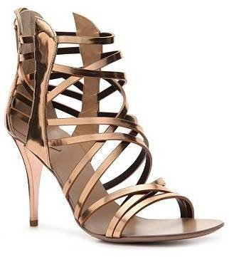 Giuseppe Zanotti Metallic Patent Leather Gladiator Sandal