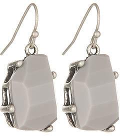 Blu Bijoux Grey Earrings
