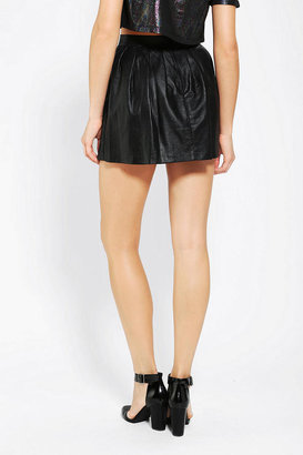 Urban Outfitters This Is A Love Song Warrior Mini Skirt