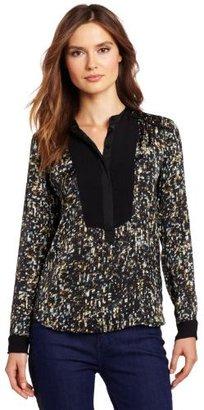 Rebecca Taylor Women's Sequin Silk He...
