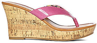 Arizona Cory Cork Wedge Sandals