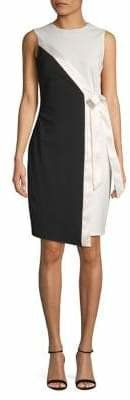Diane von Furstenberg Colourblock Sheath Dress
